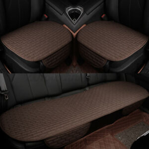 3d Universal Pu Fabric Car Seat Cover Breathable Pad Mat For Auto Chair Cushion