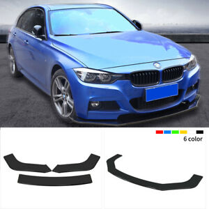 For 2013 Honda Civic Front Bumper Lip Spoiler Splitters Abs 3pcs 1800mm 70 86
