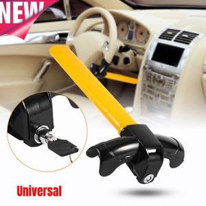 Anti Theft Security Rotary Steering Wheel Lock Top Mount For Suv Auto Car Truck