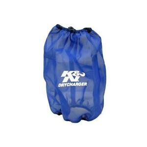 K N Rc 4780dl Drycharger Air Filter Wrap 9 5in Tall Blue
