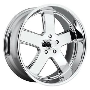 Us Mags U11620807345 Hustler Wheel 20x8 Chrome Plated