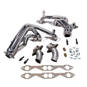 Bbk 1595 1993 1996 Chevy Impala Ss 1 5 8 Shorty Headers Chrome