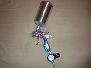 Sata Jet Very Limited Edition Patriotic Spray Gun New 850 Invested Sell 600