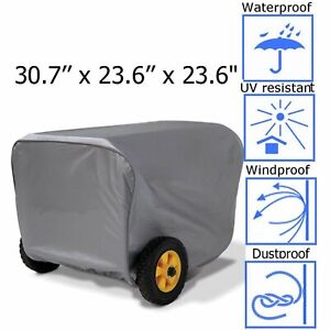 Generator Cover Portable Large For Champion Weather Dustproof Storage Protection