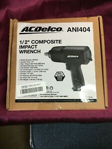 Acdelco 1 2 Inch Composite Pneumatic Impact Wrench 650 Ft Lbs