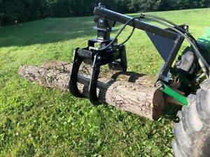 Tractor Mounted 3 Point Log Grapple