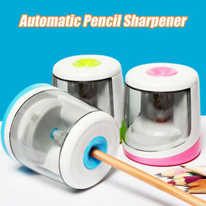 Automatic Electric Pencil Sharpener Student Battery Operated Stationery Gift