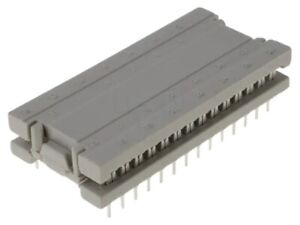 220f10129x Conec Idc Transition Pin 28 Dil 15 24mm Idc tht For Ribbon Cable