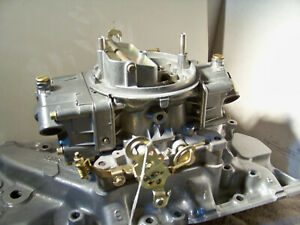 Holley 750 Cfm Vac Secondary 3310 2 Plated And Polished And Rebuilt