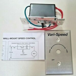 Kb Electronics 8811012 Solid State Variable Speed Ac Electric Motor Control