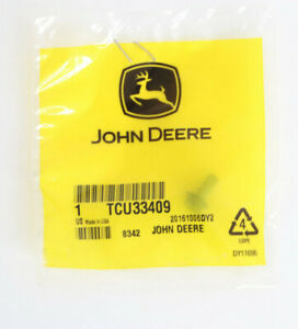 John Deere Genuine Parts Screw Tcu33409