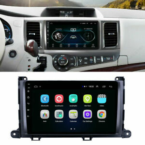 9 Inch Car Stereo Radio Android 9 1 Gps Obd Bt Dab For Toyota Sienna 2011 2014