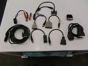 Otc Genisys Scanner Cables Bundle Of 10 3305 71 2126 33 2126 35 3305 65 3305 58