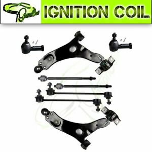 8pc Front Parts Tie Rod End Steering Suspension Kit For 2006 2007 Ford Focus