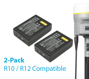 Replacement Battery For Trimble R10 And R12 Receivers 2 Pack New
