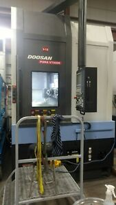 Used 15 Doosan Vt 900 mr Cnc Live Tool Vtl Vertical Turret Lathe Turning Center