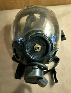 Msa Cbrn Gas Mask Millennium Fits 40mm Filter Size Large Fast Shipping