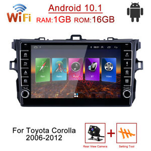 Android 10 1 Stereo Gps Navi Radio Car Dvd Player For Toyota Corolla 2006 2012
