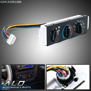 For 99 04 Jeep Wrangler Tj Hvac Ac A c Heater Control With Blower Motor Switch