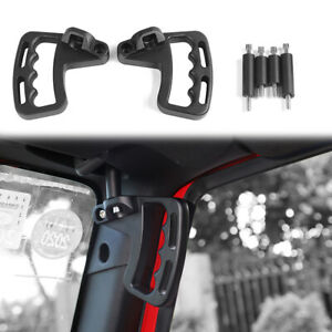 Heavy Duty Front Grab Grip Handle Bar Accessories For Jeep Wrangler Jk 2007 2017