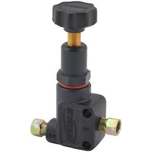 Speedway Black Adjustable Brake Proportioning Valve