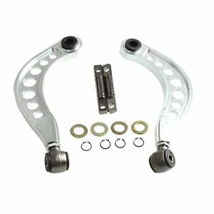 For 06 2015 Honda Civic Rear Upper Camber Control Arms Kit 1 8l 2 0l Silver