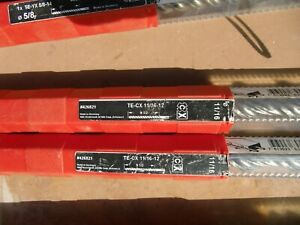 Hilti 426821 Hammer Drill Bit Te cx 11 16 X 12 Many More Sizes Available