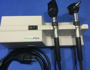 Welch Allyn 767 Transformer W 25020 11710 Ophthalmoscope Otoscope Heads P kp
