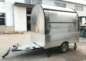 New 2021 7x5 Enclosed Concession Mobile Kitchen Food Trailer