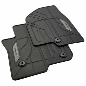 2021 Chevrolet Tahoe Suburban All Weather Front 2nd Row Floor Mats Black Oe Gm