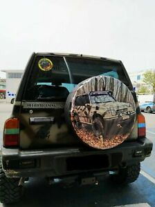 Custom Made Your Picture And Size 15 16 17 Tyre Spare Wheel Cover From Producer