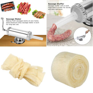 Sausage Stuffer Maker Machine Aluminum Alloy Commercial Kitchen Tools