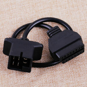 6 Pin Drb To Obd2 Adapter Cable Connector Code Reader For Chrysler Jeep Dodge