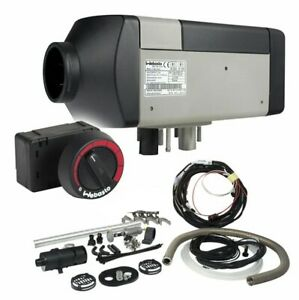Webasto 2000stc Diesel Air Heater 12v With Rotary Rheostat And Mounting Kit