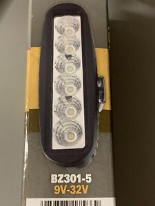 Grote Bz301 5 Britezone Led Slim Work Light 1400 Raw Lumens New
