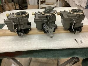 Chevrolet 1958 1961 Tri Power Carbs