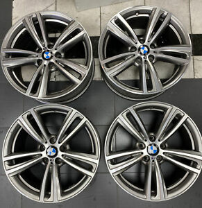 Bmw Oem 3 And 4 series M tec Style 442m 2014 2018 19 Staggered Wheel Set