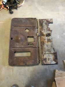 1939 1946 Chevy Truck Floor Pans Trans Cover Original Pickup