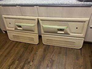 81 93 Dodge Ramcharger D100 D150 D250 D350 Right left Door Panel Tan Oem