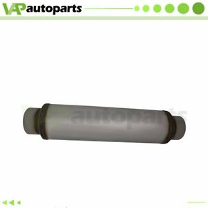 5 Inlet Outlet Stainless Exhaus Muffler Resonator 30 Inch Total Length