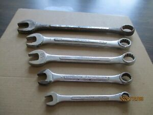 S k Tools 7 Piece Combination Wrenches