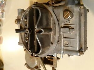 Holley 80457 600 Cfm Vacuum Secondary Carburetor