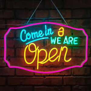 Ultra Bright Led Open Sign Neon Light For Business Store Bar Pub Restaurant Shop