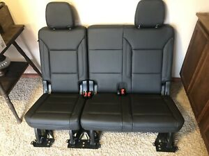 2021 Chevy Tahoe New Leather 3rd Row Seat Cargo Box