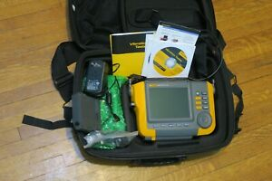 Fluke 810 Vibration Tester Battery Case Excellent Condition Free Shipping