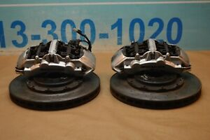 2006 Mercedes Cls55 Sl55 Front P030 Brembo Brake Calipers With Rotors 380 Mm