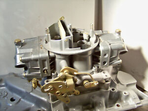 Holley 6212 800 Double Pumper Spread Bore 4 Barrel Carb Rebuilt And Plated