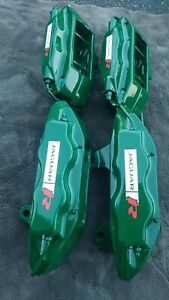 2003 2008 Jaguar S type R Xjr Supercharged Brembo Front Rear Brake Calipers
