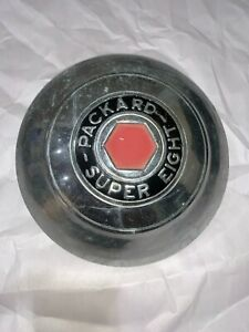Packard Super Eight Phaeton Club Sedan Roadster Hubcap 10