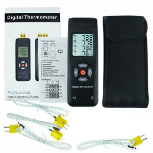 Temperature Thermocouple Thermometer Professional Digital 4 Channel K type